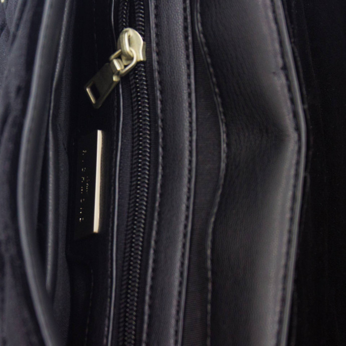 Бархатный рюкзак с клепками John Richmond