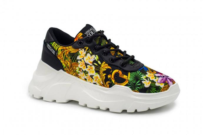 Разноцветные кроссовки  Versace Jeans